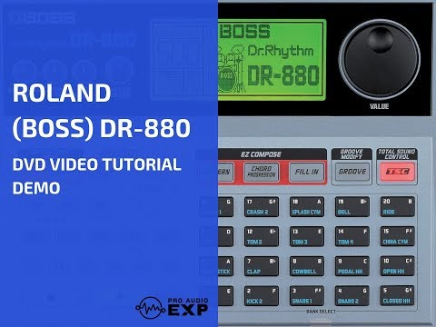 roland boss dr 880 dvd video tutorial demo review help youtube. Black Bedroom Furniture Sets. Home Design Ideas