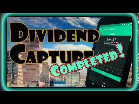 DIVIDEND CAPTURE Swing Trading! | Dividend Investing 101