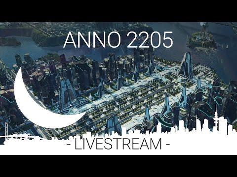 livestream - ANNO 2205 - design focused cities and Orbit DLC