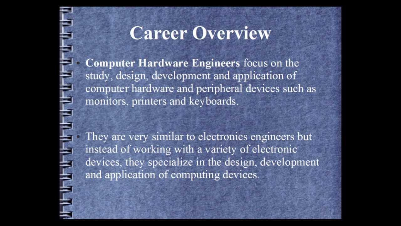 Computer Hardware Engineering Salary - YouTube