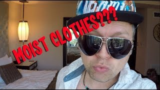 Vacation Tips with Dino - Moist Clothes