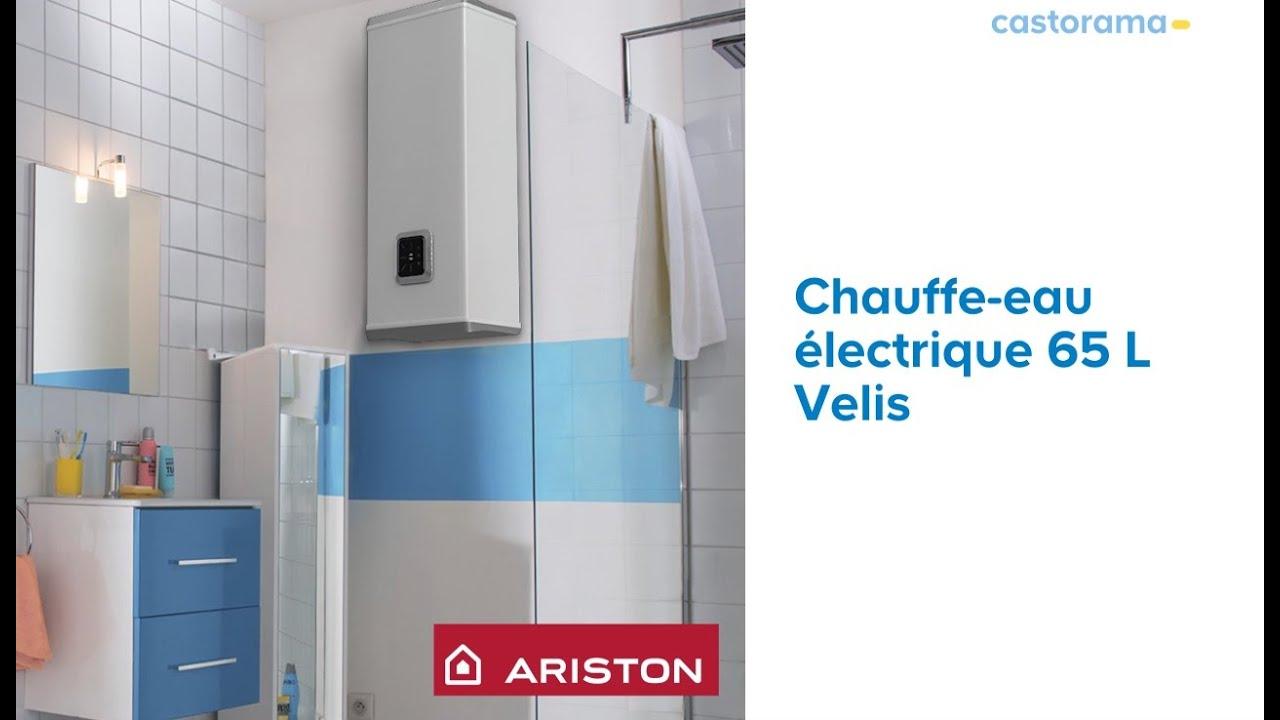 Chauffe Eau Electrique Plat 65 Litres Velis Ariston 698134 Castorama Youtube