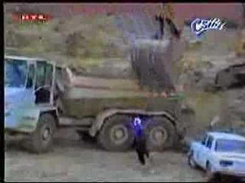 Angry employ destroy boss car crash