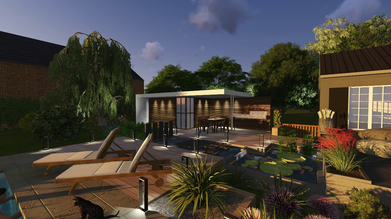 Construction Du0027un Pool House, Piscine Et Bassin 2