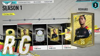 *LIVE* ICON SWAPS OBJECTIVE GRIND!!! FIFA 20 Road To Glory #13 - LIVE STREAM - FIFA 20 LIVE STREAM