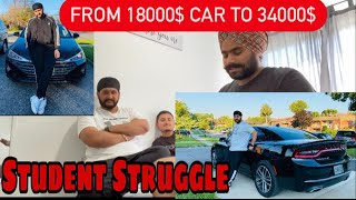 Student Struggle || Car Expenses in Canada || 7 Days Work || Dodge Charger -The Muscle Car ||