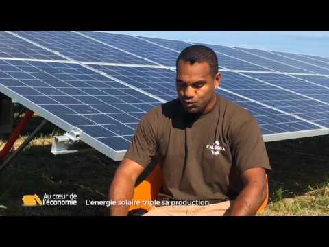 Au coeur de l'économie : L'énergie solaire triple sa production
