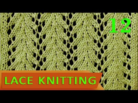 Vine Lace Stitch Easy Youtube