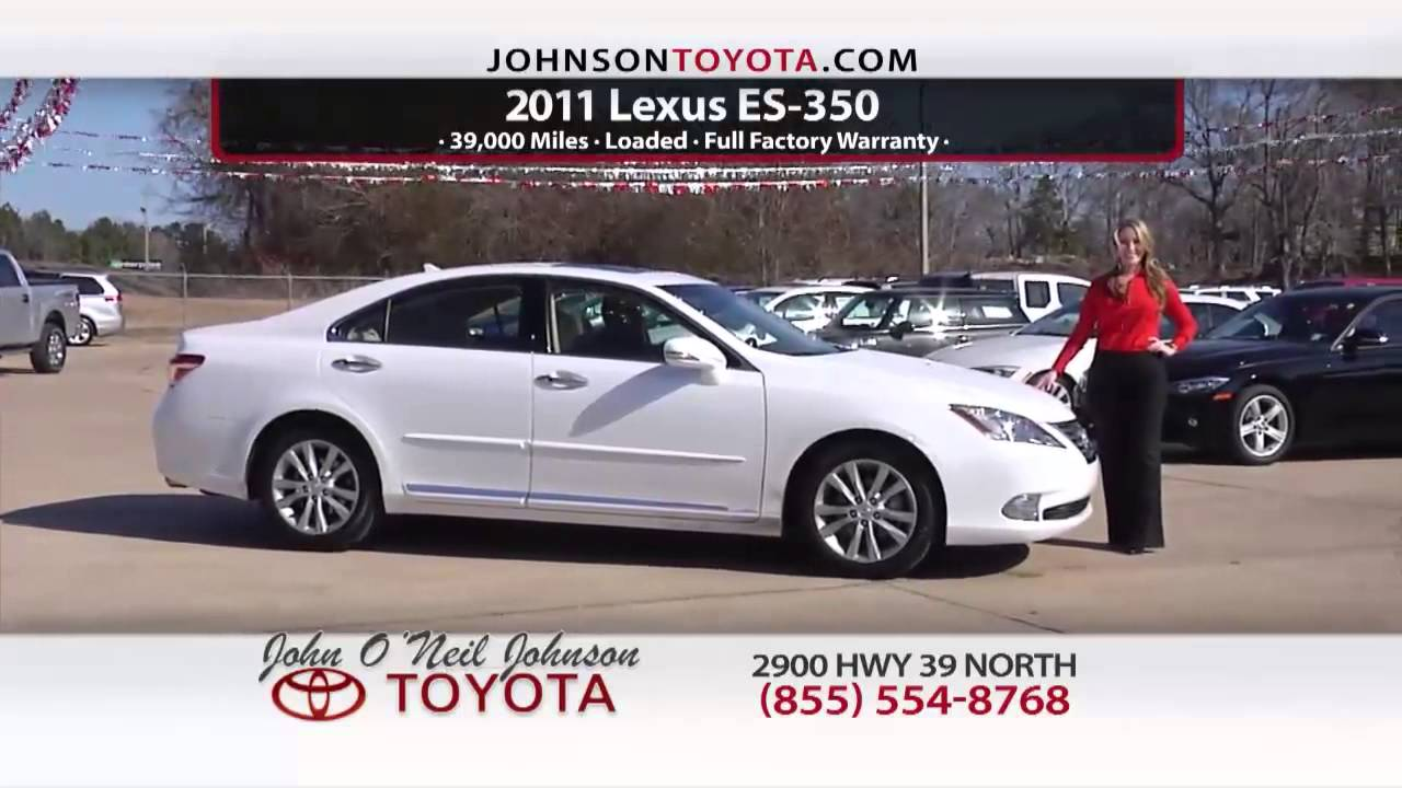 Great Deals On Used Cars In Meridian MS  John Ou0027Neil Johnson Toyota