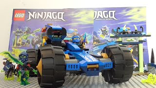 Lego Ninjago 70731 Jay Walker One Review! SUMMER 2015!