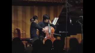 Yuki Ito (cello), Brahms Competition 2010 / 伊藤悠貴 ブラームス国際コンクール受賞者演奏会