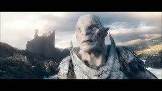The Hobbit The Battle Of The Five Armies Extended Edition Azog Death