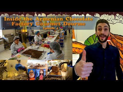 Inside The Armenian Chocolate Factory:  Gourmet Dourme (Vlog4)