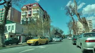Меняющийся Душанбе. Часть 53. Улицы Пулоди, Пушкина, Комсомольская. Март 2018