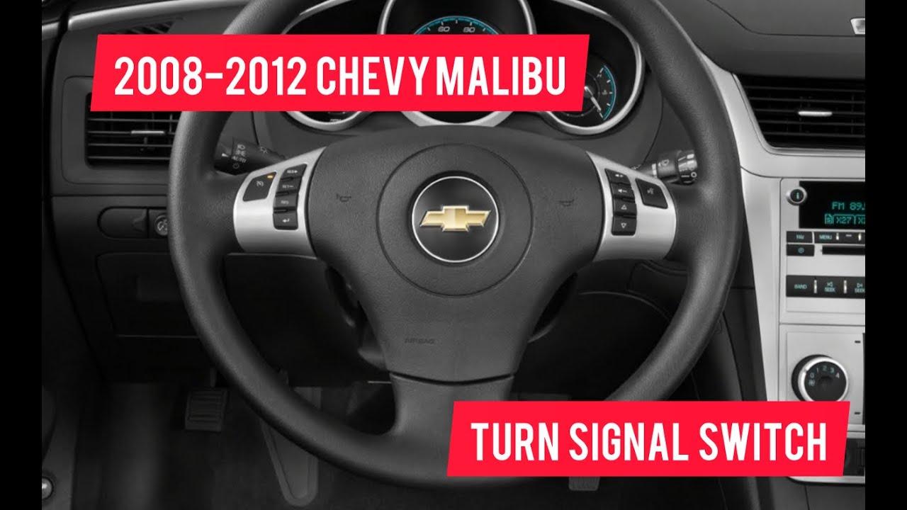 2008 2012 Chevy Malibu Turn Signal Switch Replacement Youtube
