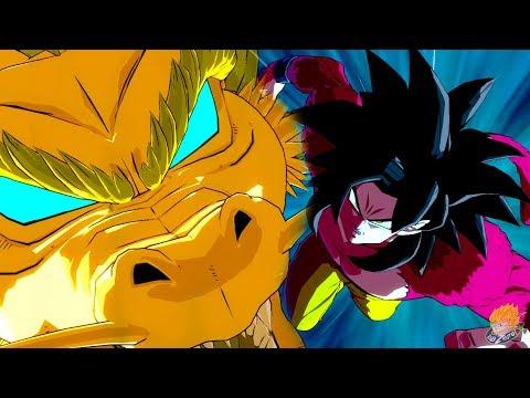 Dragon Ball FighterZ - GT Goku Moveset Showcase【60FPS 1080P】