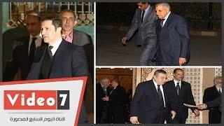 جمال وعلاء مبارك وإبراهيم محلب وعصام شرف يقدمون العزاء فى زوجة محمد صبحى