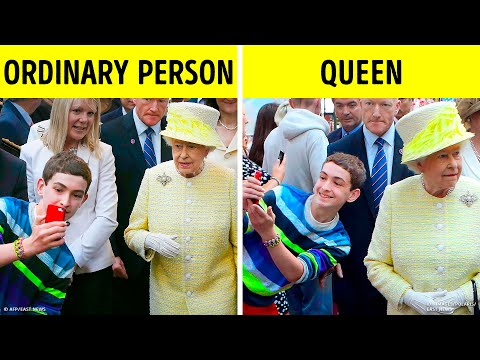 15 Things the Queen Hasn't Tried in Her Life