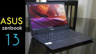 Asus Zenbook 13 (UX331U) unboxing and overview - light weight and slim notebook from Rs. 66990