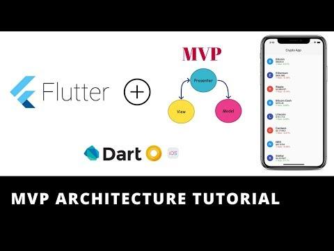 Flutter - MVP Architecture   Design Pattern   Dependency Injection   Flavors   Demo