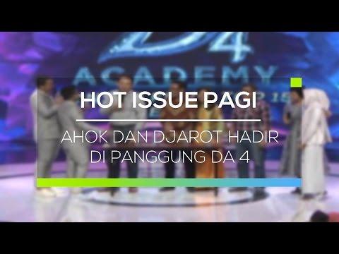 Ahok dan Djarot Hadir di Panggung DA 4 - Hot Issue Pagi