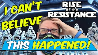 Star Wars: Rise Of The Resistance Ride | What. Just. Happened? I Completely FREAK Out