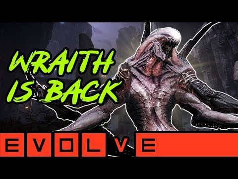 WRAITH IS BACK!! Evolve Gameplay Stage Two (PC Monster Gameplay)