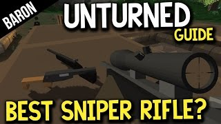 Unturned Best Sniper Rifle?  Timberwolf Vs Matamorez!