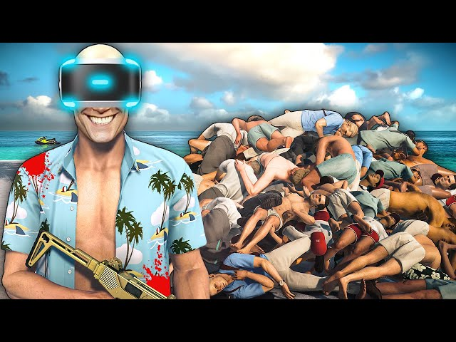 They Sent Me to Haven Island to Kill Everyone but I'm in VR - Hitman VR (Hitman 3 VR)