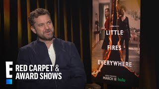 """Gambar cover Joshua Jackson on """"Little Fires Everywhere"""" Costars Kerry & Reese 