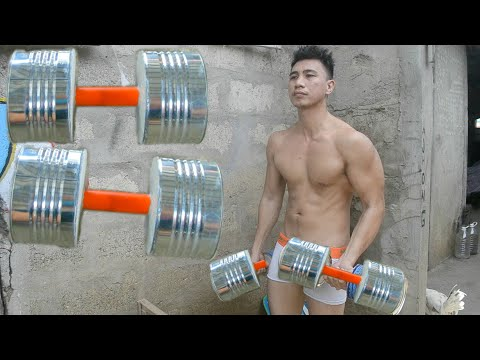 How to Make Dumbbell - Diy Gym Weights - Homemade Weights