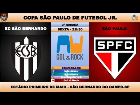 EC SÃO BERNARDO x SÃO PAULO - AO VIVO NARRAÇÃO