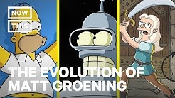 The Evolution of 'Simpsons' Creator Matt Groening   NowThis
