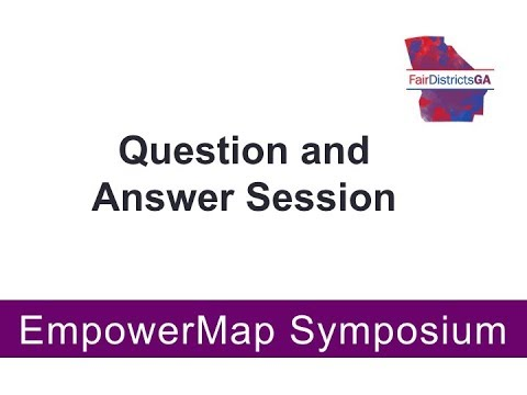 EmpowerMap Symposium Question & Answer Session
