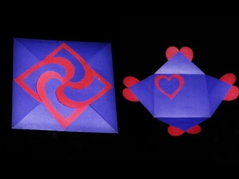 love card sealed with hearts learn how to make a heart lock