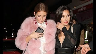 Millie Mackintosh enjoys a girls' night out in London