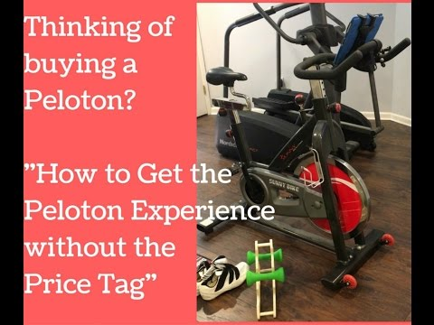 How to Use the Peloton App on any Spin Bike