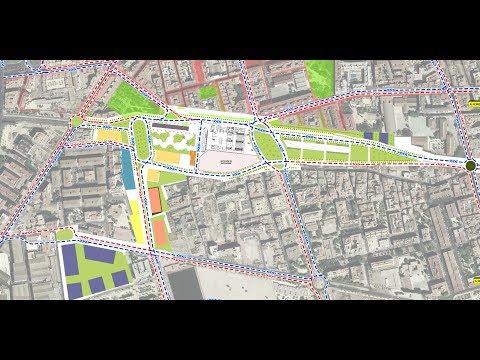 'Conexión Sur': El Ayuntamiento plantea duplicar lo que se considera el centro de Murcia