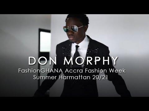 Don Morphy (USA) @Accra Fashion Week 2020/21 Summer Harmattan