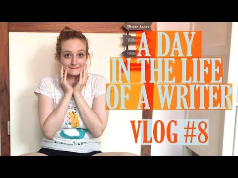 A Day In the Life Of A Writer - Vlog #8 - Back To Neverland