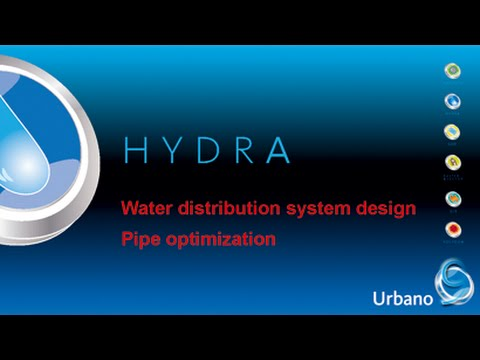 Water distribution system design – pipe optimization