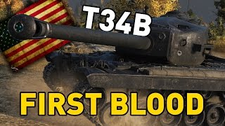 World of Tanks || First Blood - T34B