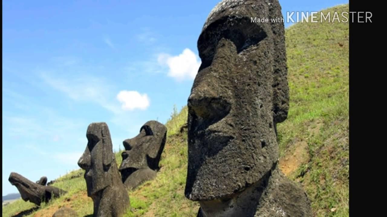 Carving a foam moai aka easter island head eps