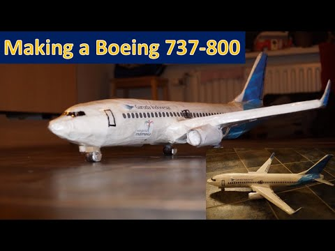 How To Make A Boeing 737-800 From Garuda Indonesia?