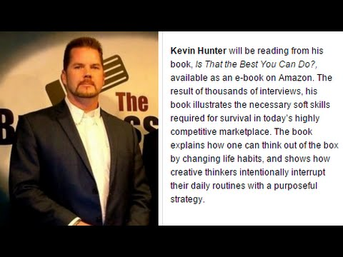 """WordFest in Longview WA - Kevin Hunter reads """"Is that the best you can do?"""""""