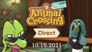 TreeckoBro 🔴 Reacting to the ANIMAL CROSSING UPDATE and DLC DIRECT!