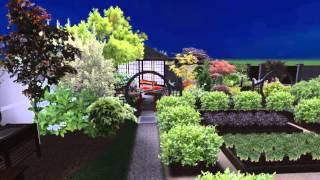 Ландшафтный дизайн  Проект участка 15 сот