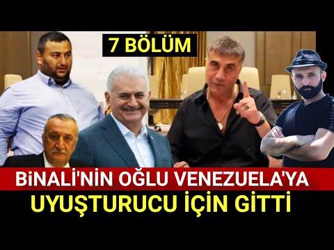 sedat peker 7 bölüm / Binali Yıldırım Erkan yıldırım Venezüella / Uğur Mumcu Mehmet Ağar / Erdoğan