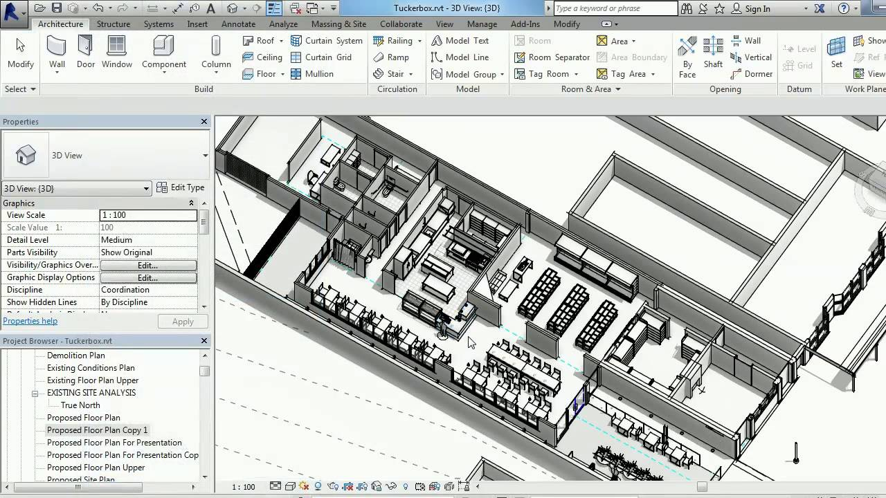 How to create presentation floor plans in revit for Revit architecture modern house design 2