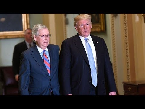 Inside The GOP's Cryptic Impeachment Meetings With Trump